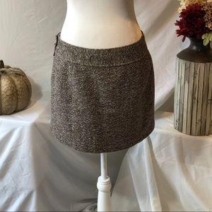 J. Crew, Wool, Tweed, Mini-Skirt